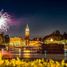 Fireworks by Sean Malley - City,  Street & Park  Skylines