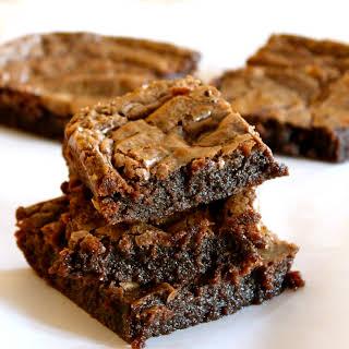 Delicious Nutella Brownies.