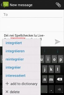 Spellchecker.lu Live - screenshot thumbnail