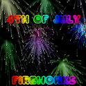 July 4th Fireworks HD icon