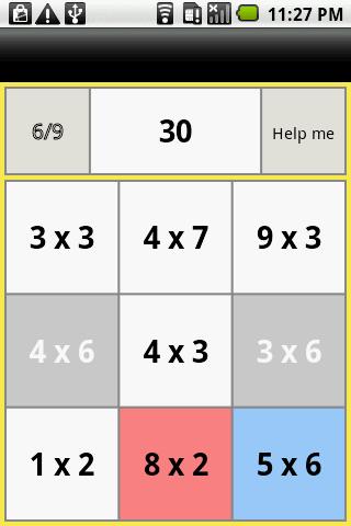 Rev. one-digit multiplication- screenshot