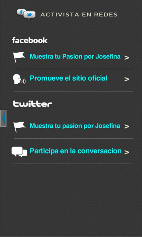 Josefina2012 - screenshot