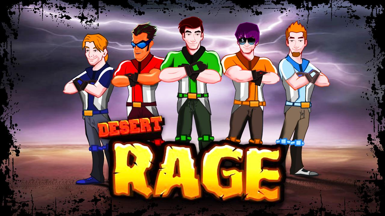 Desert Rage - Bike Racing Game- screenshot