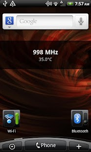 Simple CPU Widget - screenshot thumbnail