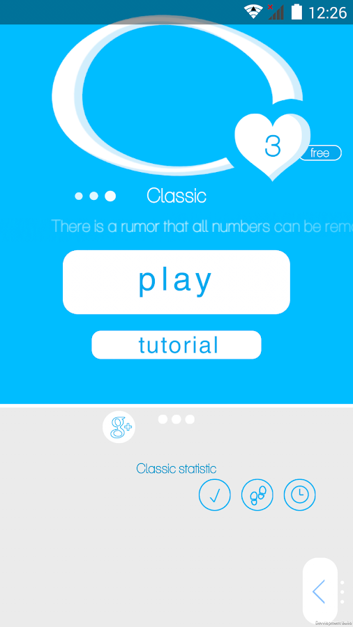1/19 Number Puzzle game- screenshot
