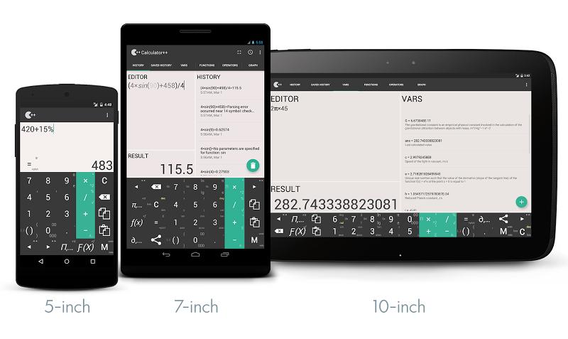 Calculator ++ Screenshot 5