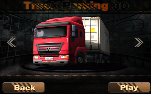 Real Truck Parking 3D- screenshot thumbnail