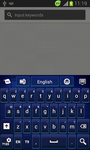 GO鍵盤深藍色主題