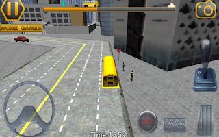 Screenshot of Schoolbus Driving 3D Simulator