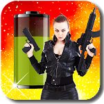 Gun Girls Battery Widget 1.7.0 Apk