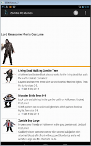 Zombie Costumes screenshot 3