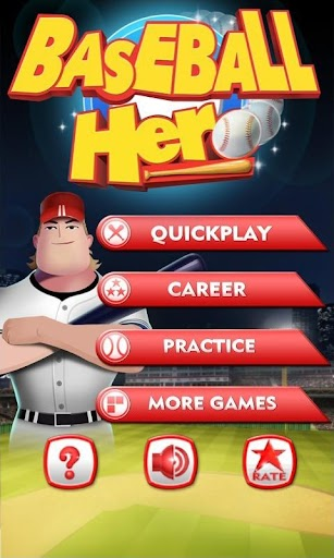 Baseball Hero screenshot for Android