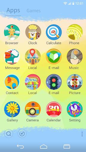 【免費個人化App】Hi Polly!GO LAUNCHER THEME-APP點子