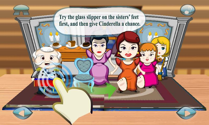 Cinderella : 3D Pop-up Book- screenshot