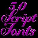 Fonts for FlipFont Script Font icon
