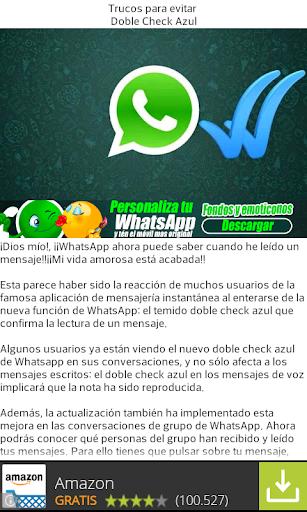 【免費個人化App】Quitar Doble Check Azul-APP點子