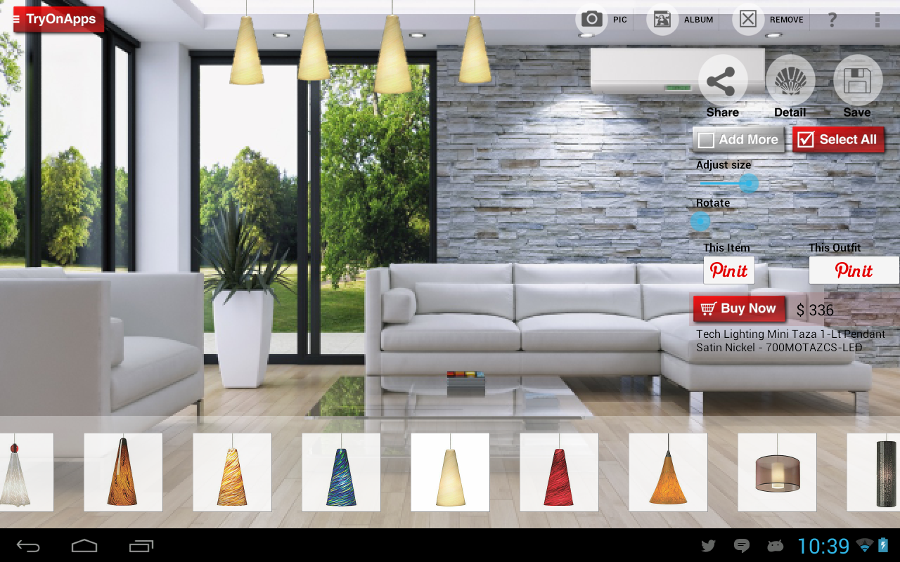 Virtual home decor design tool android apps on google play for Home decorating app