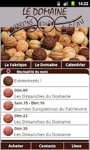 Macarons de Réau - screenshot thumbnail