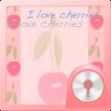 Cherries Theme for GO Locker icon