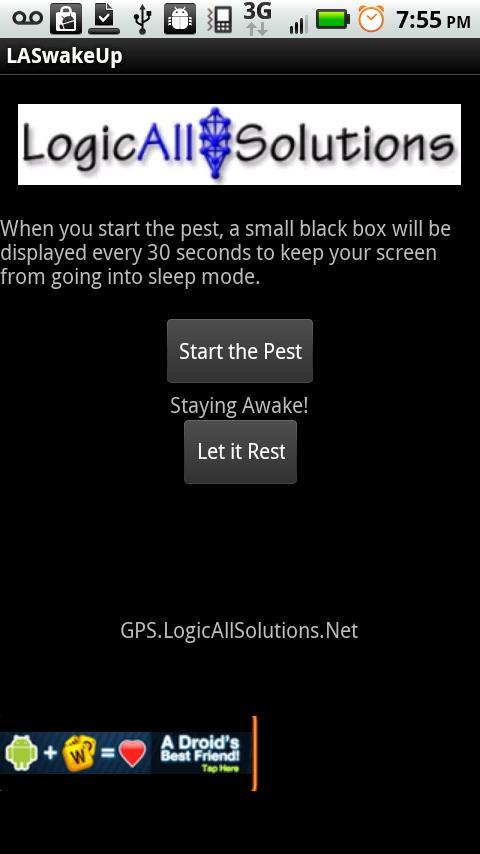LAS WakeUp- screenshot