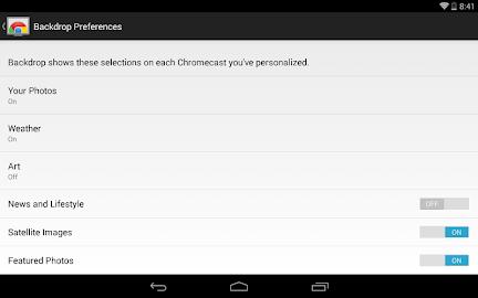 Chromecast Screenshot 15