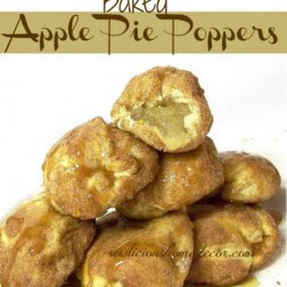 Apple Pie Poppers