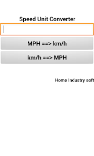 Speed Unit Converter - screenshot thumbnail