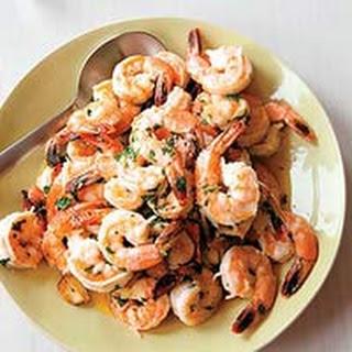 Classic Shrimp Scampi.