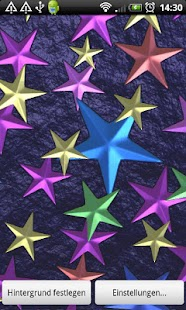 Stars 3D Full Live Wallpaper - screenshot thumbnail