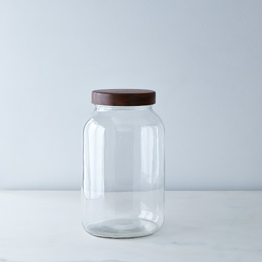 Hand-Turned Mason Jar and Lid