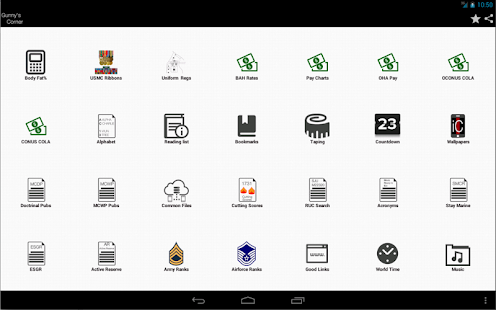 iCorps: Pocket Reference- screenshot thumbnail