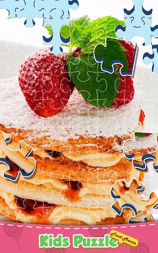 Kids Jigsaw Puzzle: Food Mania