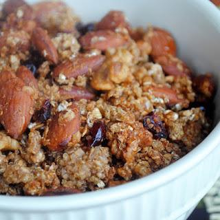 Toasted Quinoa Granola