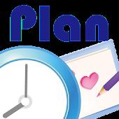 スケジュール帳 Plan