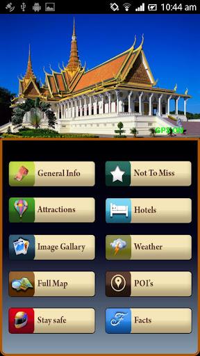 Phnom Penh Offline Map Guide