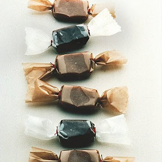 Deep Dark Chocolate Caramels