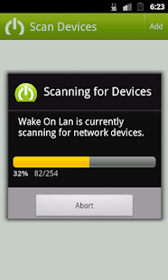 Wake on Lan - with Widget- screenshot thumbnail