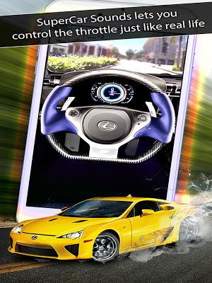 1 SuperCar Sounds App screenshot