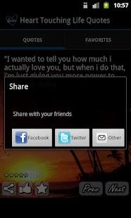 Heart Touching Quotes - screenshot thumbnail