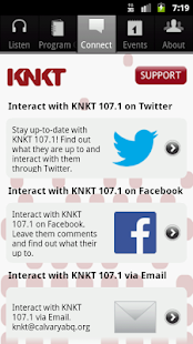 KNKT Radio - screenshot thumbnail