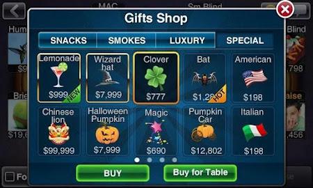 Texas HoldEm Poker Deluxe Pro 1.6.4 screenshot 7533