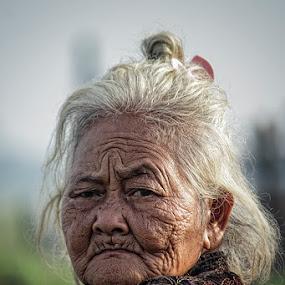old granie by Haris Fallin - People Portraits of Women