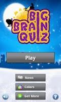 Screenshot of Big Brain Quiz FREE