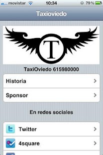 TaxiOviedo- screenshot thumbnail