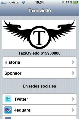 TaxiOviedo- screenshot