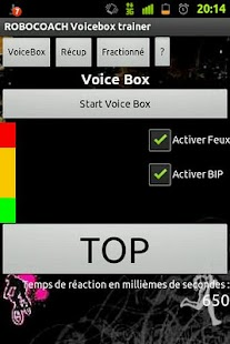 Robocoach Voice Box - screenshot thumbnail