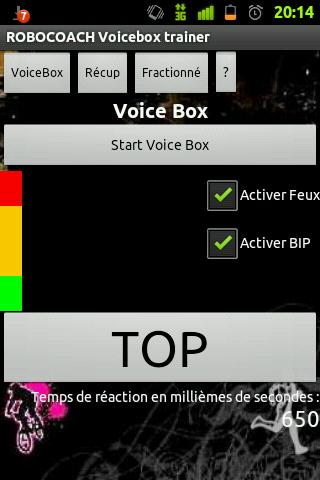 Robocoach Voice Box - screenshot