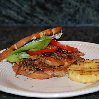 Soft Shell Crab Sandwich.