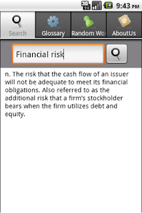 Business & Finance Dictionary - screenshot thumbnail