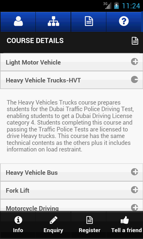Dubai Driving Center- screenshot